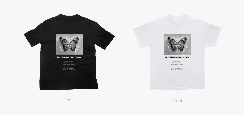 THEE MAKING CLAP STORY企画]コラボチャリティーTシャツ